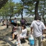 野島公園でのバーベキュー・スクーリング!